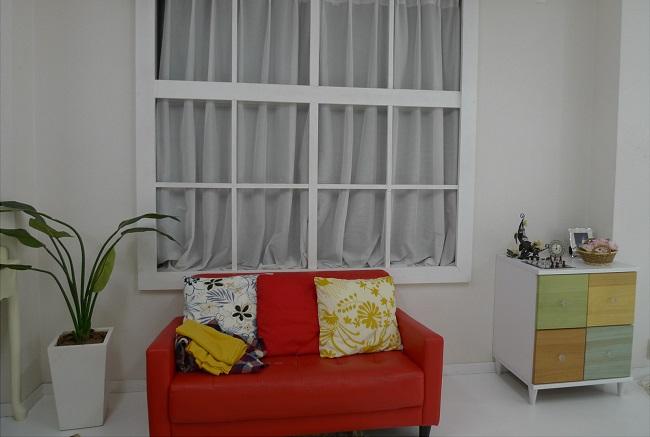 家具の配置を考える