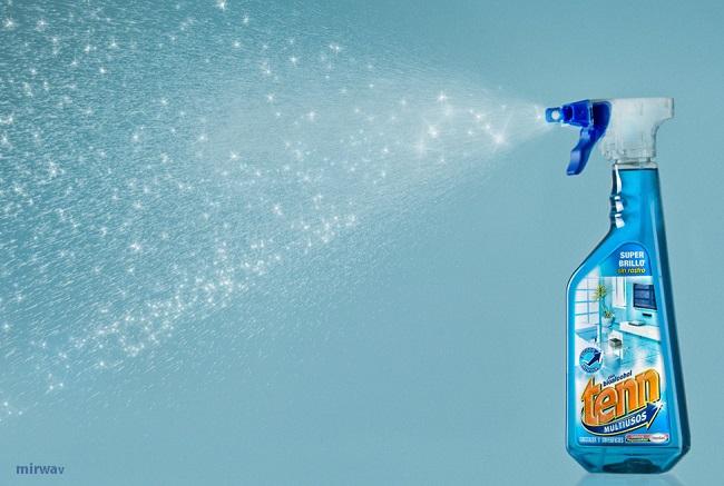 洗剤はスポンジやブラシに含ませる