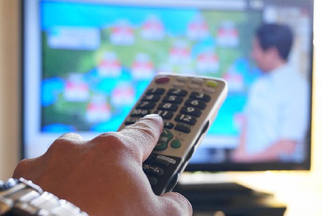 テレビをつけっぱなしにせず節約
