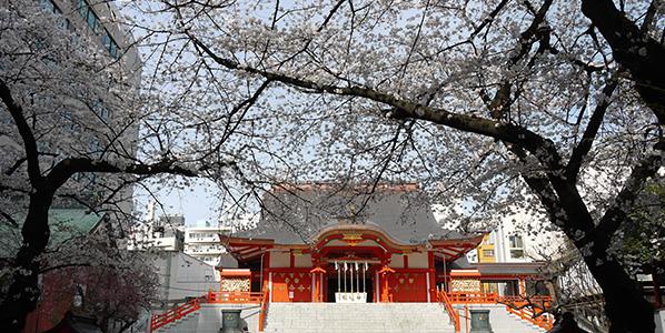 花園神社パワースポット