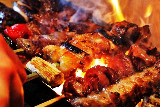 おしゃれな串焼き、創作料理佐五右衛門