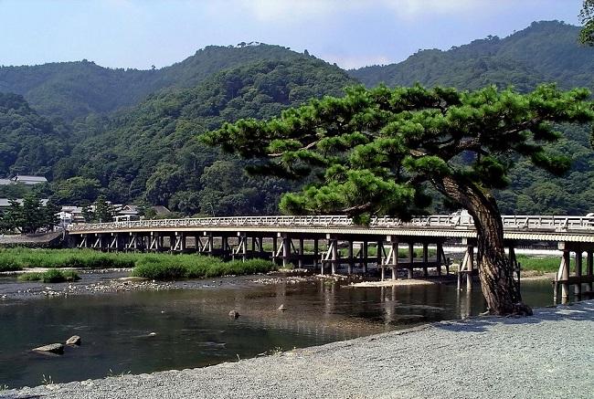 渡月橋京都嵐山