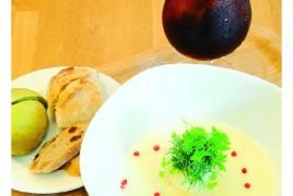 SOUP CAFE Hokko (p58) 玉ねぎのホワイトポタージュセット