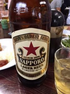 札幌ラガービール赤星