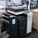 指定された印刷機を利用